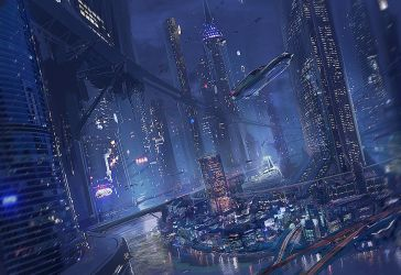 City Of the Night by MeckanicalMind