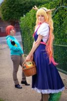 Tohru : Back from the market! by ShaeUnderscore