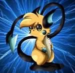 New Pokemon Oc: Elsa The Raichu by xxSactaviaxx