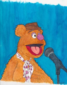 The Comedian (A Bear) by magictoast15