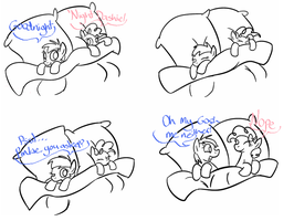 Bedtime by PonyGoggles