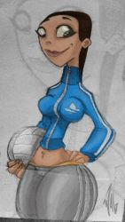 Volleyball gurl by Wagnr