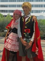 Pandora Hearts - Lottie and Oz by Hop-is-my-Hero