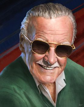 Stan Lee by WeaponMassCreation