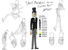 Uncle Andrew in his Sunday Best by GeebMachine