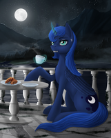 Night coffee by Dezdark