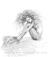Tranquil Mermaid by Mocten