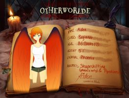 Aiden-OTHERWORLDE app by kat-eunhyeo