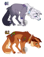 Adoptables #27 by Adrenalean