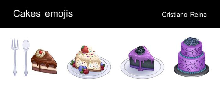 Cake icons by CristianoReina