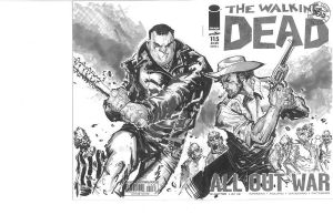Walking Dead Sketch cover!! by propsdue
