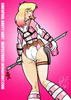 Gwenpool Booty Shot by Inspector97