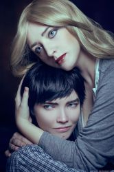 Bates Motel Cosplay - Norman and Norma by Shredinger-Cat