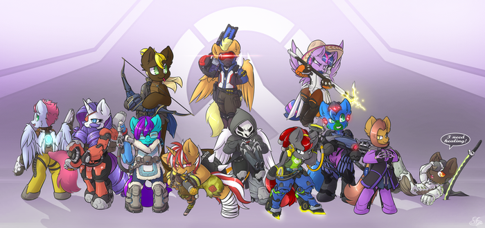 MLP Forum's Overwatch by Sapphfyr