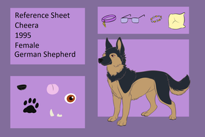 Cheera Reference sheet 2018 by Rexbn
