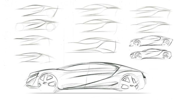 Acura Sketch by TheFoogler