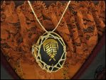 Trilobite Shell Necklace by SineSquared