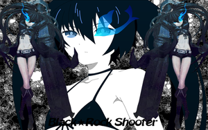 Black Rock Shooter background by Jaimelynh