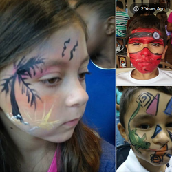 mix up face paint by funfacesballoon
