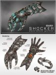 Commission: EG201 SHOCKER Gauntlet by aiyeahhs
