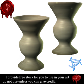 Pottery stock 3 by Prince-of-airbrush