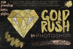 Gold Rush For Photoshop by GraphicAssets