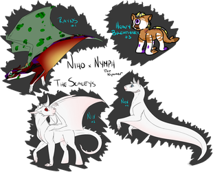 ET | Niho x Nymph | Scaley Foaling by TentiSlime