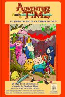 Adventure Time 80's RPG Manual by Quimtuk