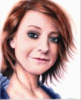 Alyson hannigan colour pencil by rasberry6