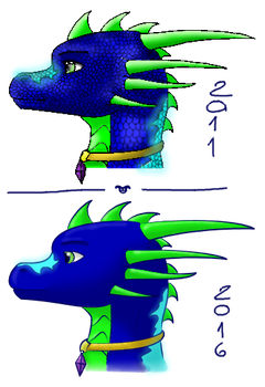 Xendy - old stuff recolor(not much improvement xP) by Daragos90