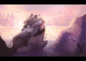 meaningful silence by growling-deer
