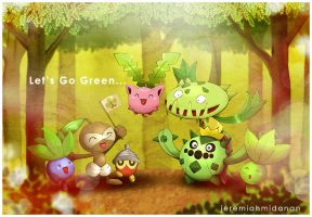 Pokemon : Let's Go Green