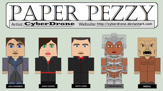 Paper Pezzy - Torchwood by CyberDrone