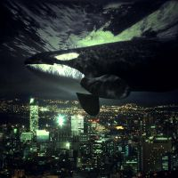 An Orca Above Mexico City by Scapetti