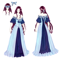 Illen - Gown Dress colored by Awa303
