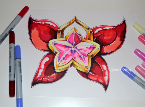 Star Guardian Jinx Ribbon by Lighane