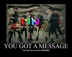 MYNAME - Message by DreamAmongStars