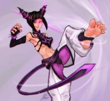 Street Fighter-Juri by Asmo-dA