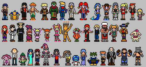 Chrono Cross Sprites by ThuhJesheekuh