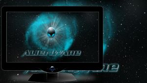 Alienware Space by Mr-Blade