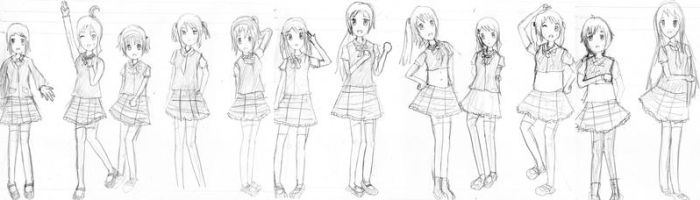IDN50 7th (Pre)Single Prmotional Sketch by ridwanchachunya