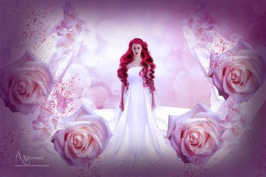 The rose lady flower by annemaria48