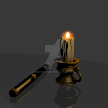 Candle flame animation. by breecolors