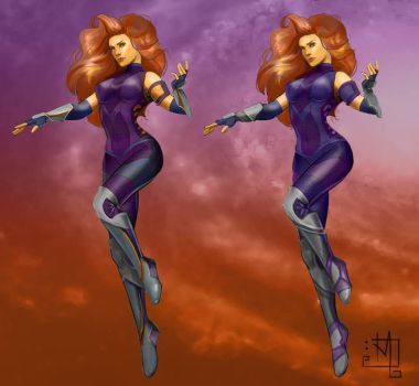 Fresh Off the Press Starfire Concept by TTProject