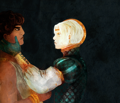 Captive Prince Fanart by Dueswals