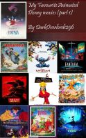 My Top 20 Favourite Animated Disney movies(part 1) by DarkOverlord1296