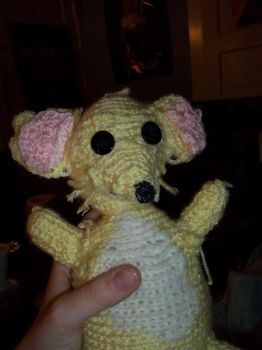 Amigurumi Rat by moonglowsakura