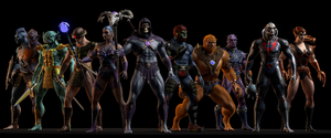 MOTU - Villains by paulrich