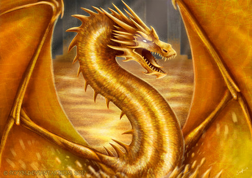 Smaug The Golden (+video) by Skyybi