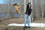 Dog Fishing by MauserGirl